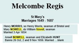 Melcombe regis weymouth